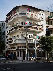 Fragments of Tel Aviv, Israël  All rights reserved. Tous droits réservés, ©Light eX Machina, 2015