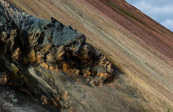 Sleeping dragon in Landmannalaugar