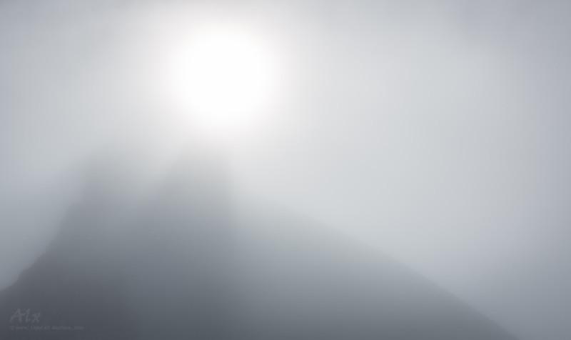 Myst The summit of Snæfellsjökull