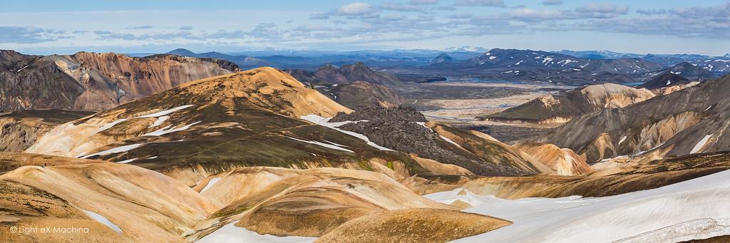 The Landmannalaugar