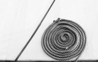 Droite et spirale