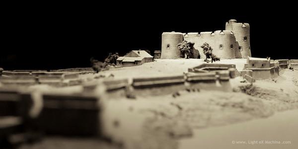 Plan relief, musée des armées, Les Invalides
