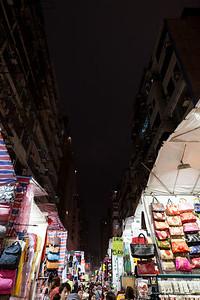 Women market late night