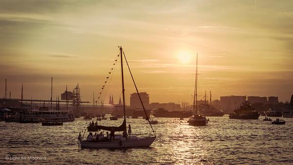 """Sunset from """"Kop van het Java-eiland"""""""