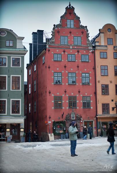 Stockholm, Architecture colorée