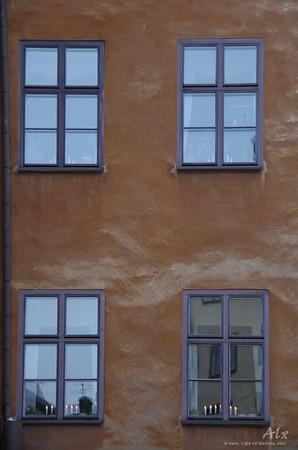 Quatre fenêtres