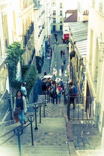 Montmartre - rue Drevet