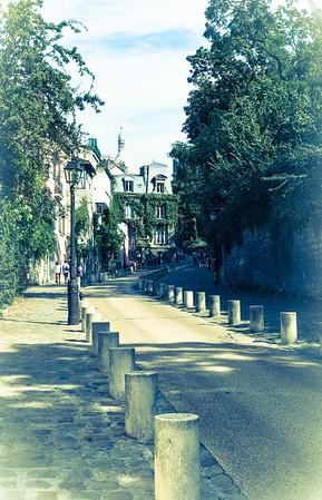 Monmartre - rue de l'abreuvoir