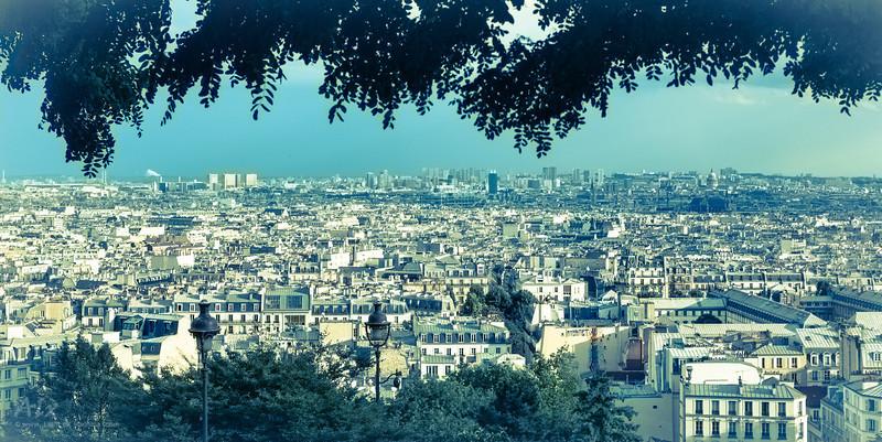 Panorama depuis Montmartre