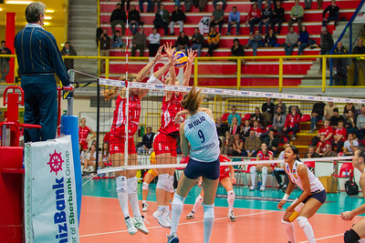 Foto: Matteo Morotti #UYBA - #AzeryolBaku 3-0 #UYBAchampions #CEV2014