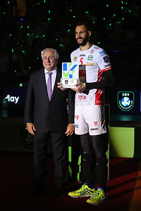 PREMIAZIONI - AWARDS CEREMONY CEV Champions League Volley 2019 Max-Schmeling-Halle Berlin, 18/05/2019