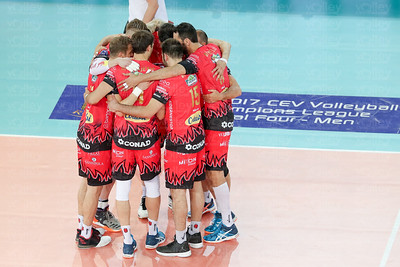 Cucine Lube Civitanova 2 - Sir Sicoma Colussi 3 DHL 2017 CEV Volleyball Champions League Final Four - Men PalaLottomatica - Roma - 29 aprile 2017
