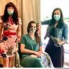 From left, owner Olga Kwasniewski, nurse Cara Hahn and sylist Vanessa Lavin