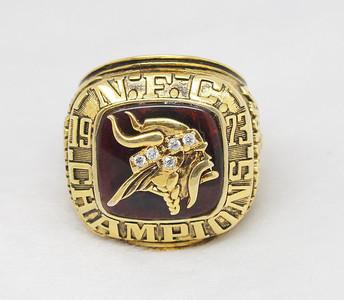 1973 NFC Minnesota Vikingssuperbowl ring