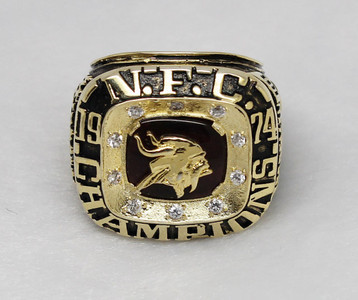 1974 NFC Minnesota Vikings superbowl ring