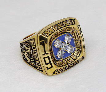 1984 AFC Miami Dolphins superbowl ring