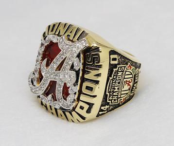 2009 ALABAMA CRIMSON TIDE NFC superbowl ring