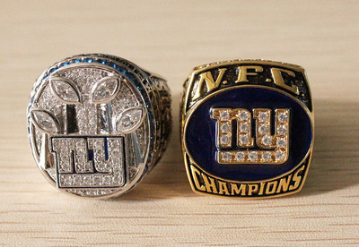 NFC east  2000 new york giants championship ring replcia