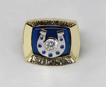 1970 Baltimore Colts Super bowl ring V