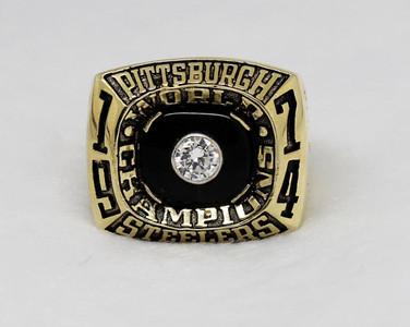 1974 Pittsburgh Steelers super bowl ring IX