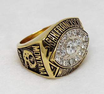 1981 San Francisco 49ers super bowl XVI championship ring