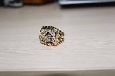 2000 baltimore ravens superbowl ring NFL