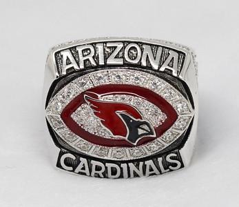 2008 NFC Arizona Cardinals superbowl ring