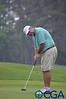 Sherrill Britt putts for birdie on 54th hole