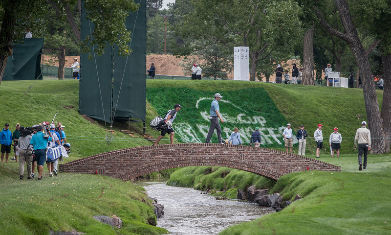 2014 BMW Chanpionship at Cherry Hills CC on Friday Sept. 5, 2014. (WGA/Charles Cherney)