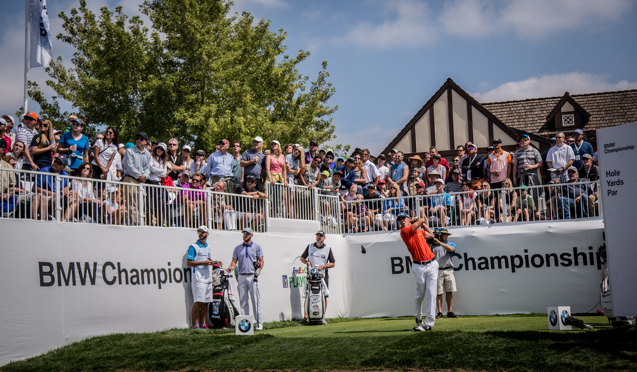 2014 BMW Chanpionship at Cherry Hills CC on Saturday Sept. 6, 2014. (WGA/Charles Cherney)