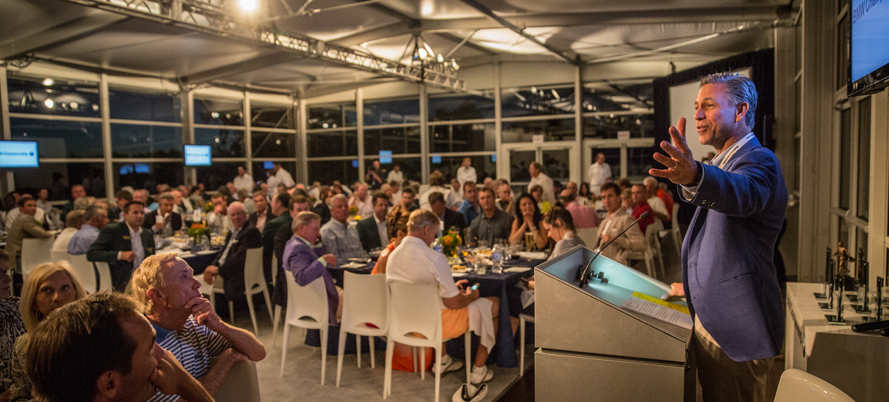 Pro Am Party on Wednesday Sept 3, 2014. (WGA/Charles Cherney)