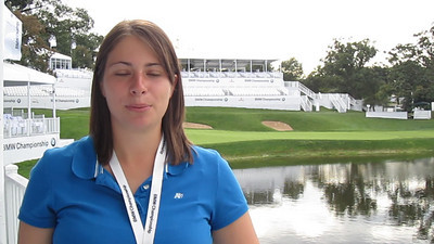 Meet Jessica Dillard, Evans Scholar, who will be filming behind the scenes footage throughout the BMW Championship.