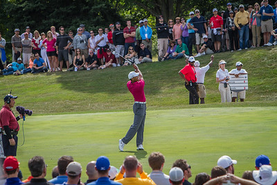 during Saturday action at the BMW/Western Open on Saturday. Sept. 14, 2013. WGA Photo/Charles Cherney