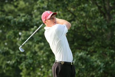 SEC Freshman of the Year Robby Shelton of Wilmer, Alabama tees off during the first round of the 2014 Western Amateur.