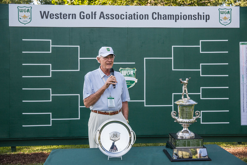 Western Amateur at Rich Harvest Farms on Thursday August 6, 2015, ©Charles Cherney Photography