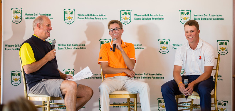 Western Am media day at Skokie GC on Thursday June 1, 2017. (Charles Cherney/WGA)