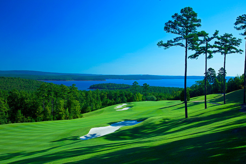 #10 overlooking Lake Maumelle.