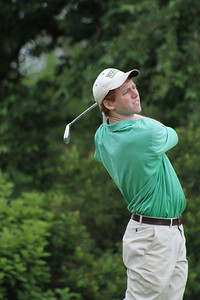 Third-place finisher Hunter Kraus, Germantown, Tenn., battles for the lead in the third round.