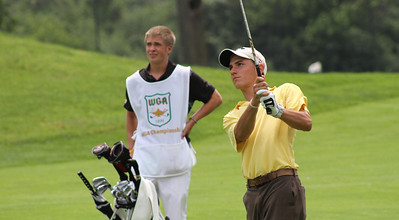 Eric Hallberg, son of 1976 Western Junior champion Gary Hallberg, strives to follow in his father's footsteps.