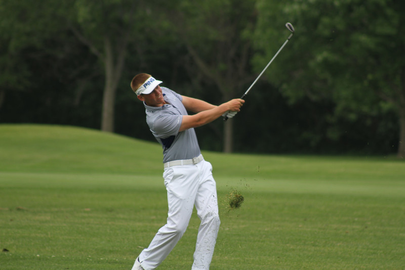 This junior was one of 155 trying to unseat 2013 champion Collin Morikawa at the 2014 Western Junior Championship.