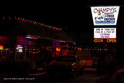 Champy's Famous Fried Chicken  Muscle Shoals, Alabama  Photography By: Lloyd R. Kenney III © 2013 All Rights Reserved Email: LloydKenneyiii@gmail.com