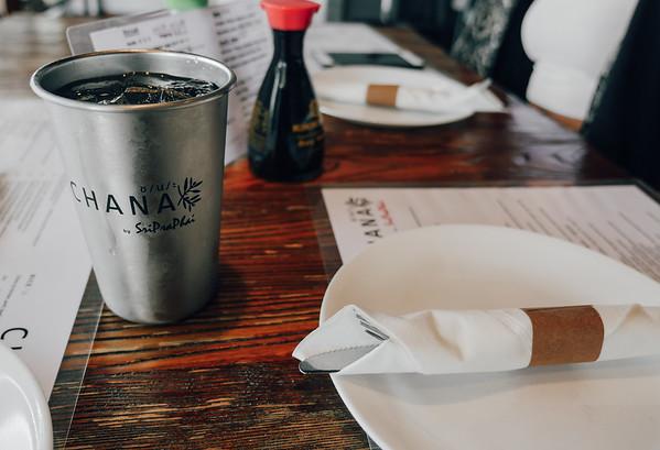 Chana Thai Kitchen, Miami - place setting