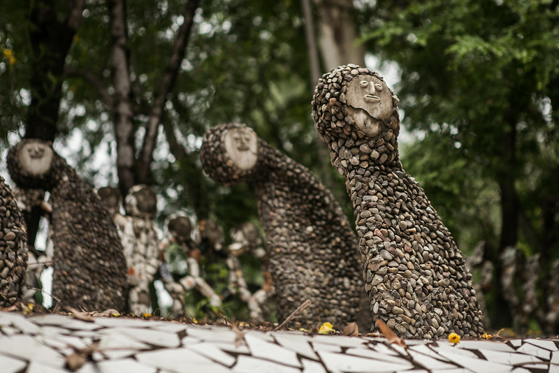 Nek Chand Rock Garden, Chandigarh, India