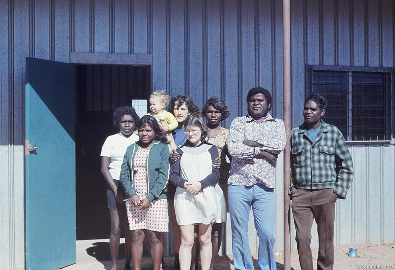 1974 New Mission store and staff