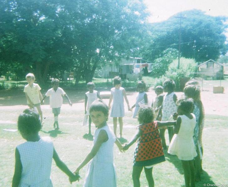 1973 Children playing
