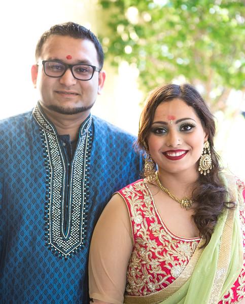 chandni and Raj Engagement