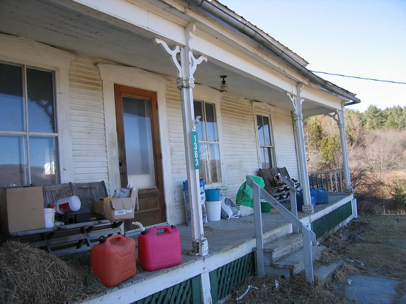 36 Hanson House Porch detail
