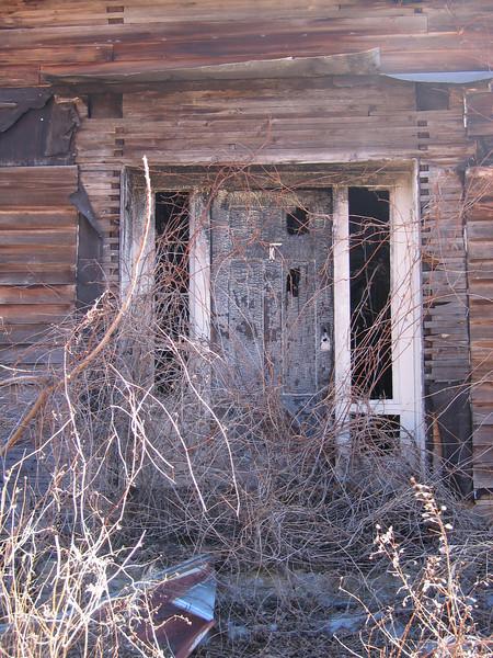 07 Burnout front door detail