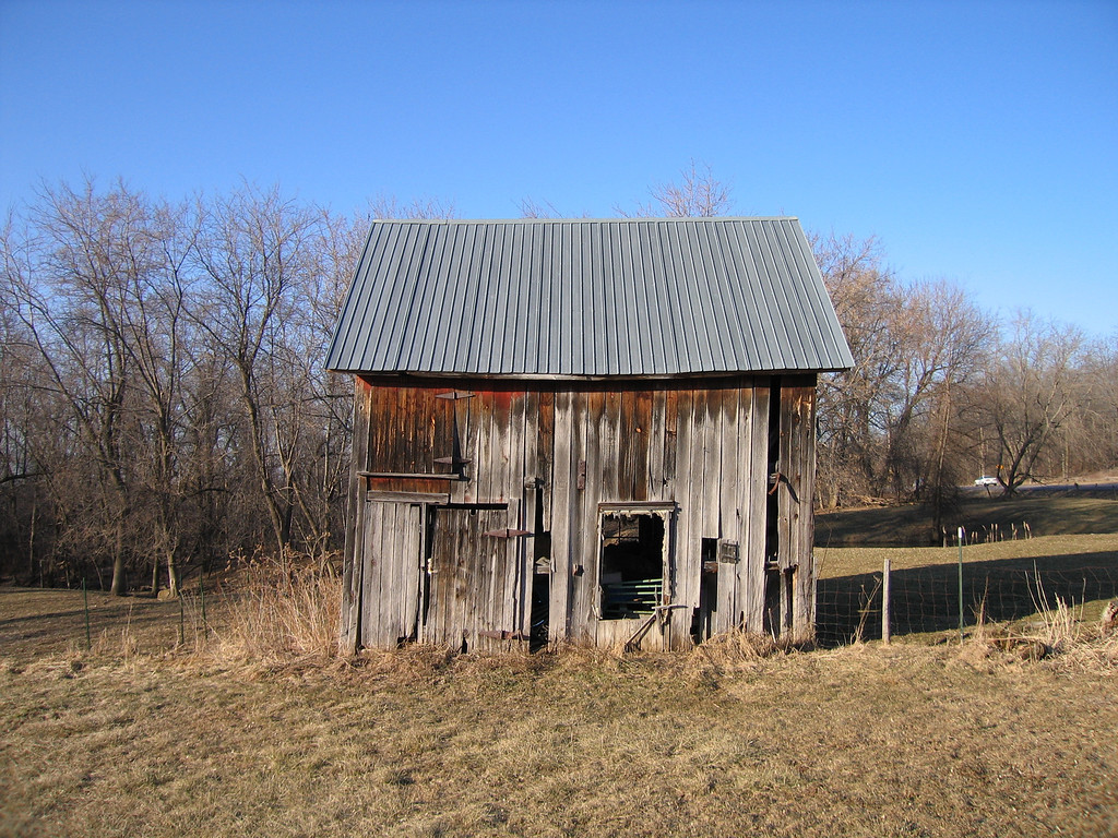 18 Round Barn Shed looking North