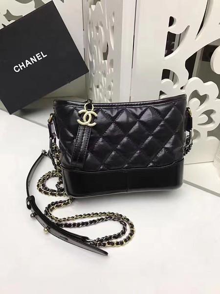 77cae1670709 GABRIELLE small hobo bag A98180 black